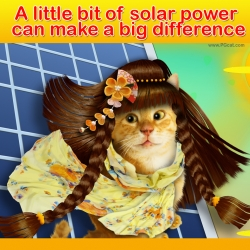 A little bit of solar power can make a big difference