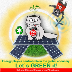 Energy plays a central role in the global economy. Let`s GREEN it!