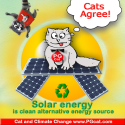 Solar energy is clean alternative energy source