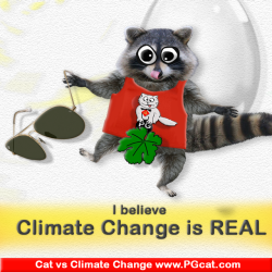 I believe Climate Change is real