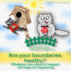 Are your boundaries healthy? Whatever you allow to happen will keep on happening