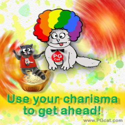 Use your charisma to get ahead!