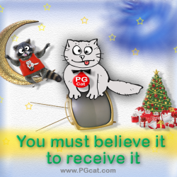 You must believe it to receive it