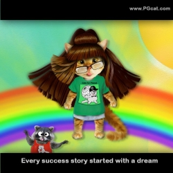 Every success story started with a dream.