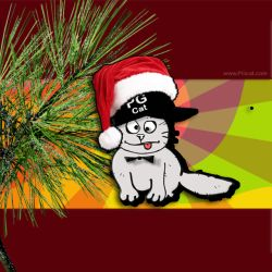 Cristmas and New Year Greeting Cards Templates PG Cat 1