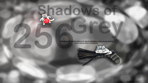 PG Cat Shadows of Grey  Demotivator