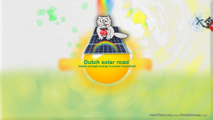 Dutch solar road makes enough energy to power household
